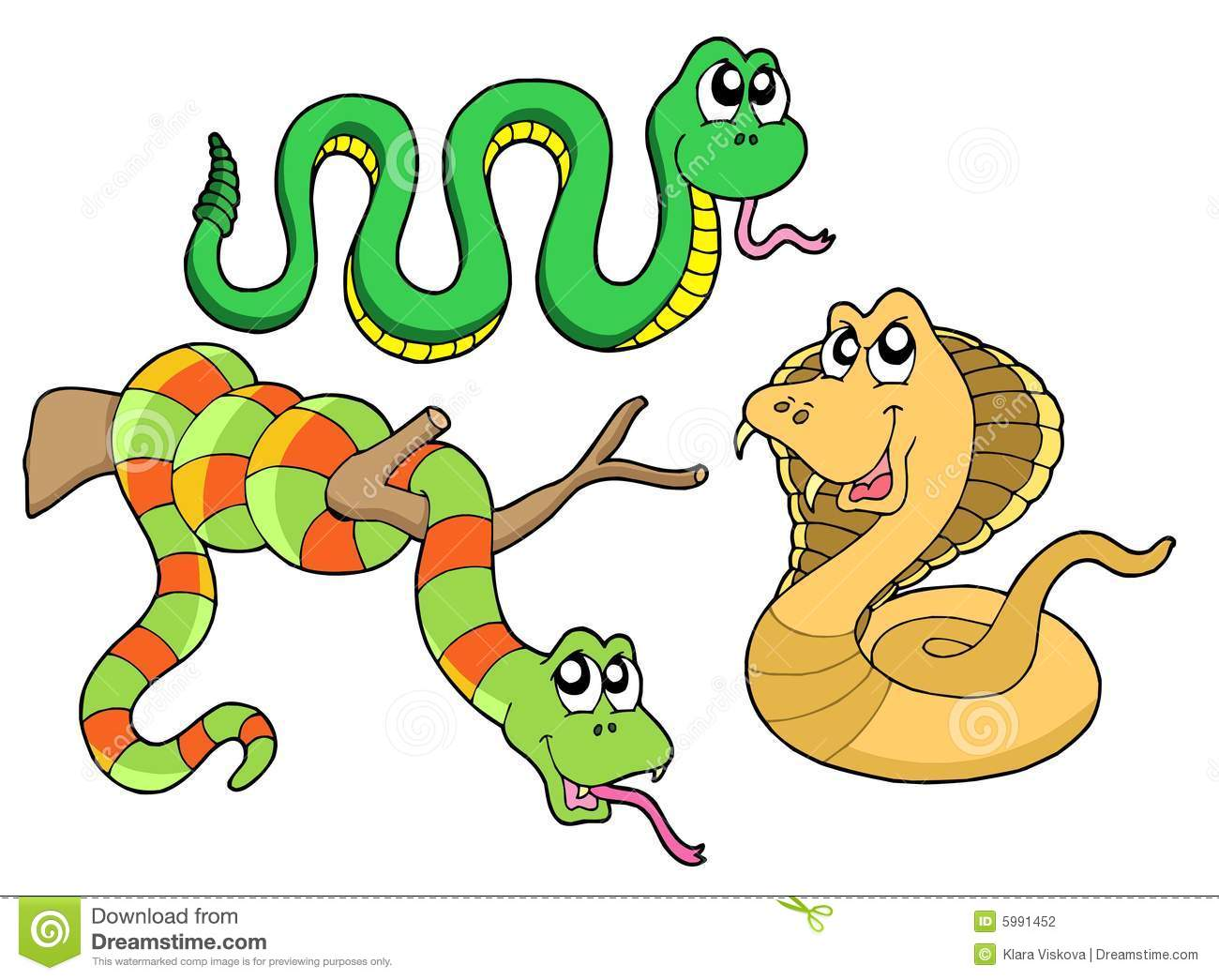 Serpent Teeth Clip Art