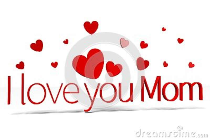 Download 3D Graphics, Hearts, I Love You Mom... Stock Illustration ...