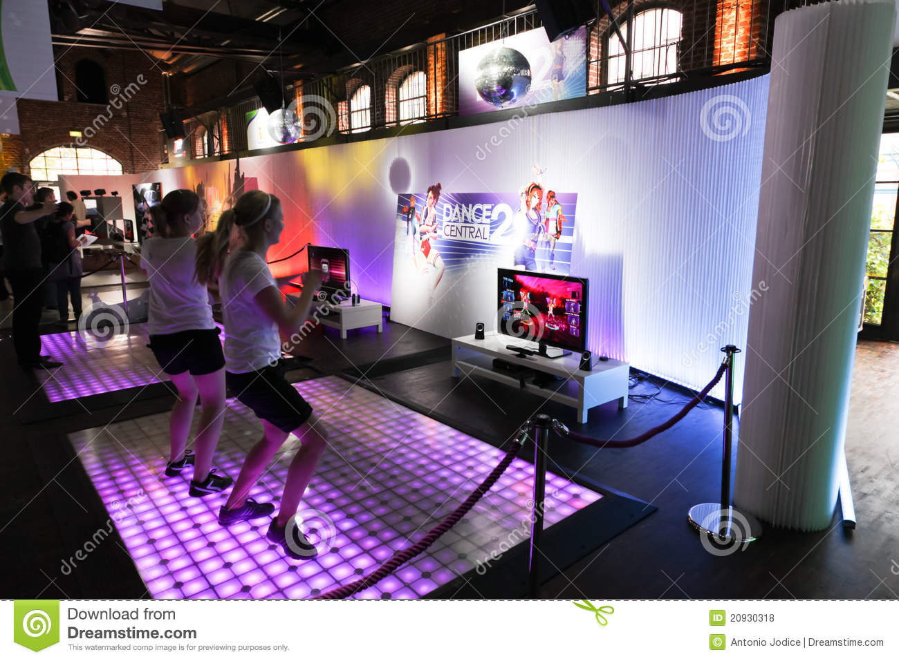 Dance Central 2 And Kinect Editorial Stock Photo Image Of