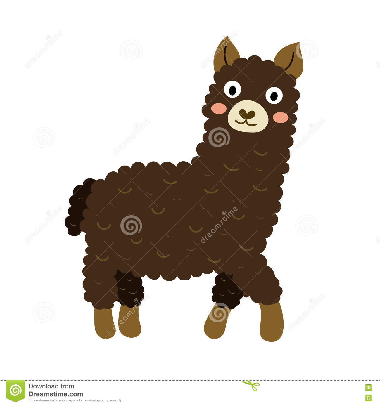 Vicuna Cartoons Illustrations Amp Vector Stock Images
