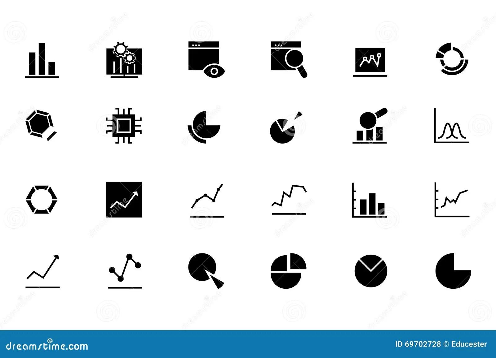 Dataytics Line Vector Icons 1 Stock Photo