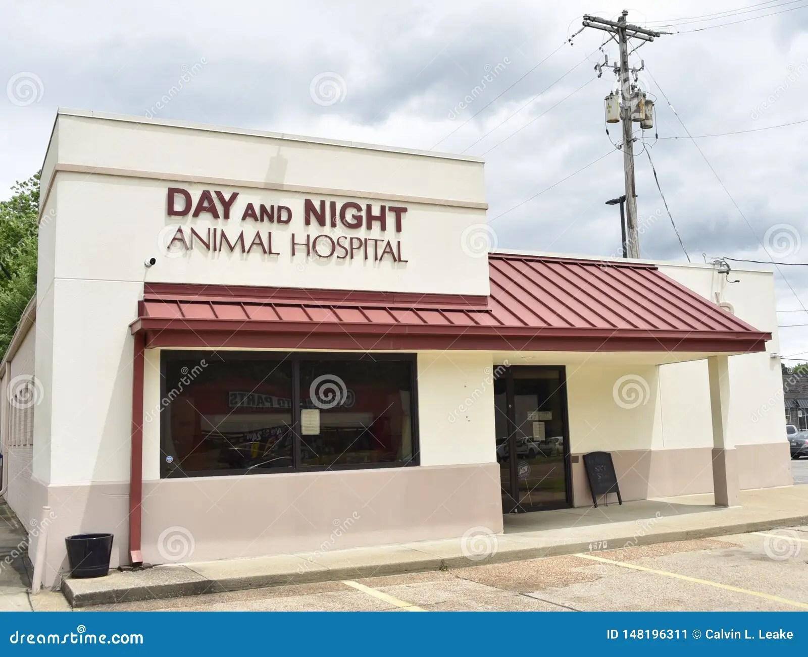 Day And Night Animal Hospital Memphis Tn Editorial Photo