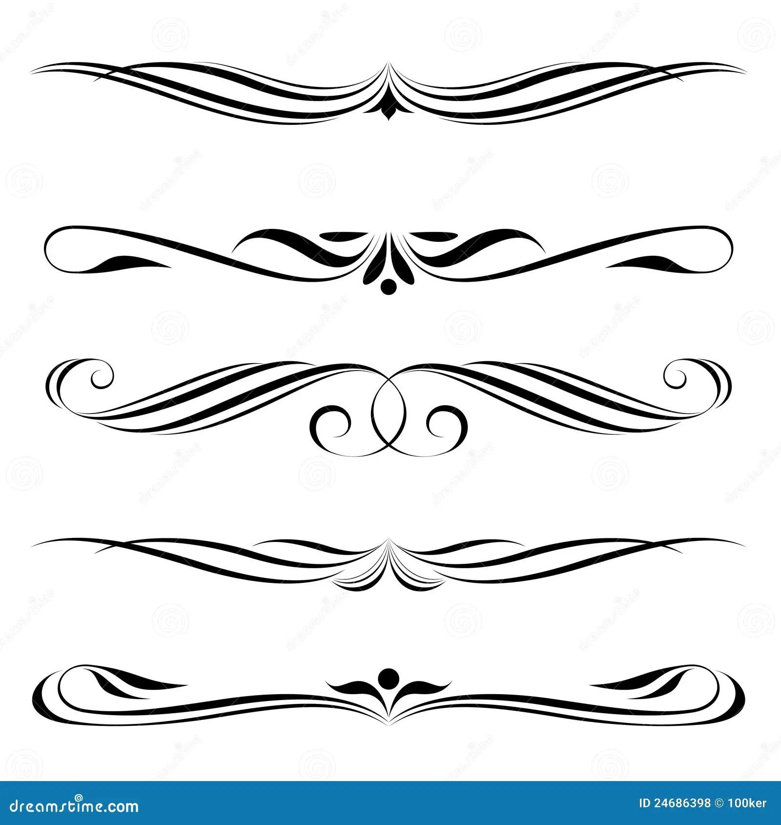 Decorative Art Clip Elements