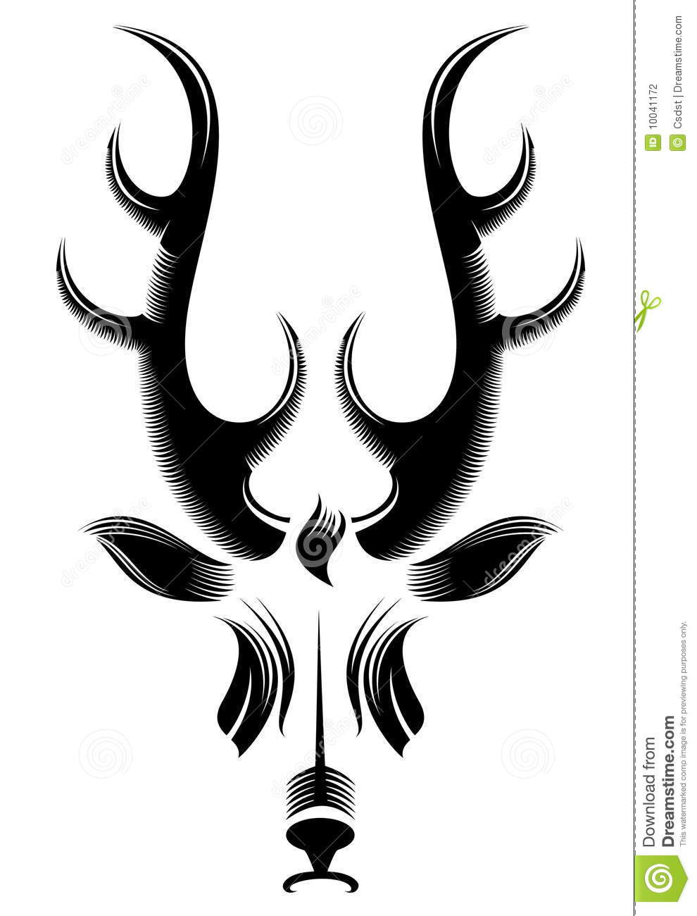 Browning Deer Head