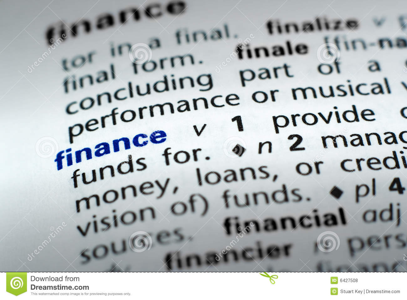 Definition Security Financial Terms