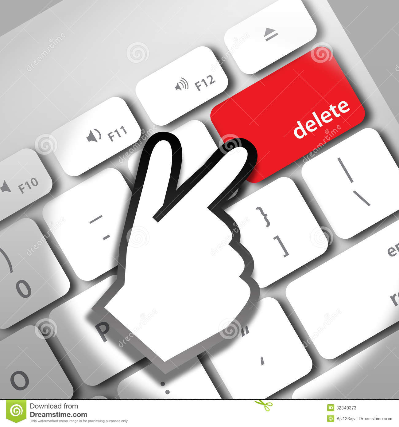 Image result for the computer delete key