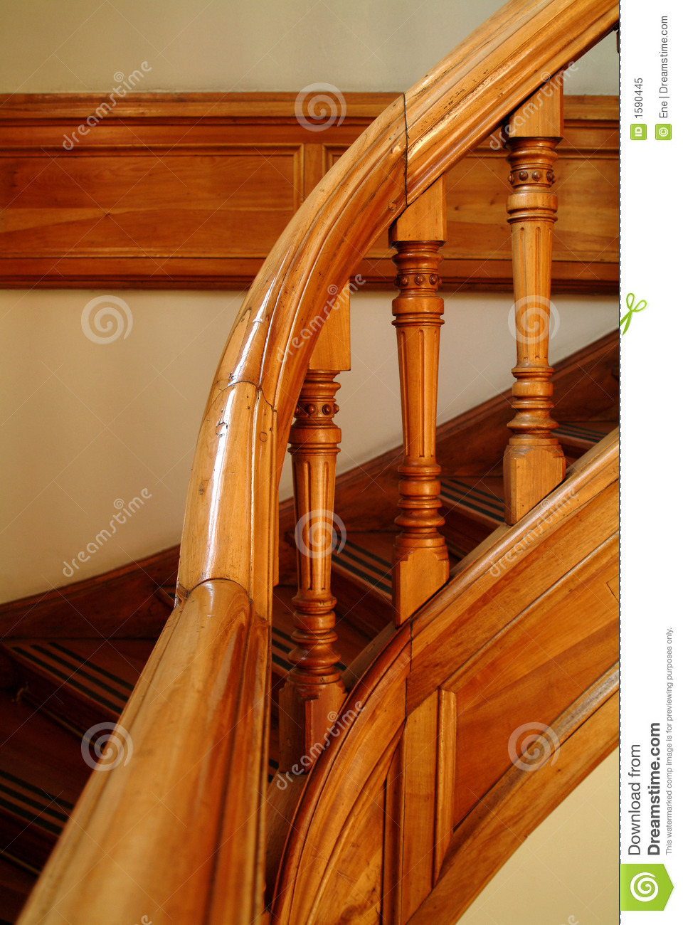 Detail Of A Stairs Handle Stock Image Image Of Building