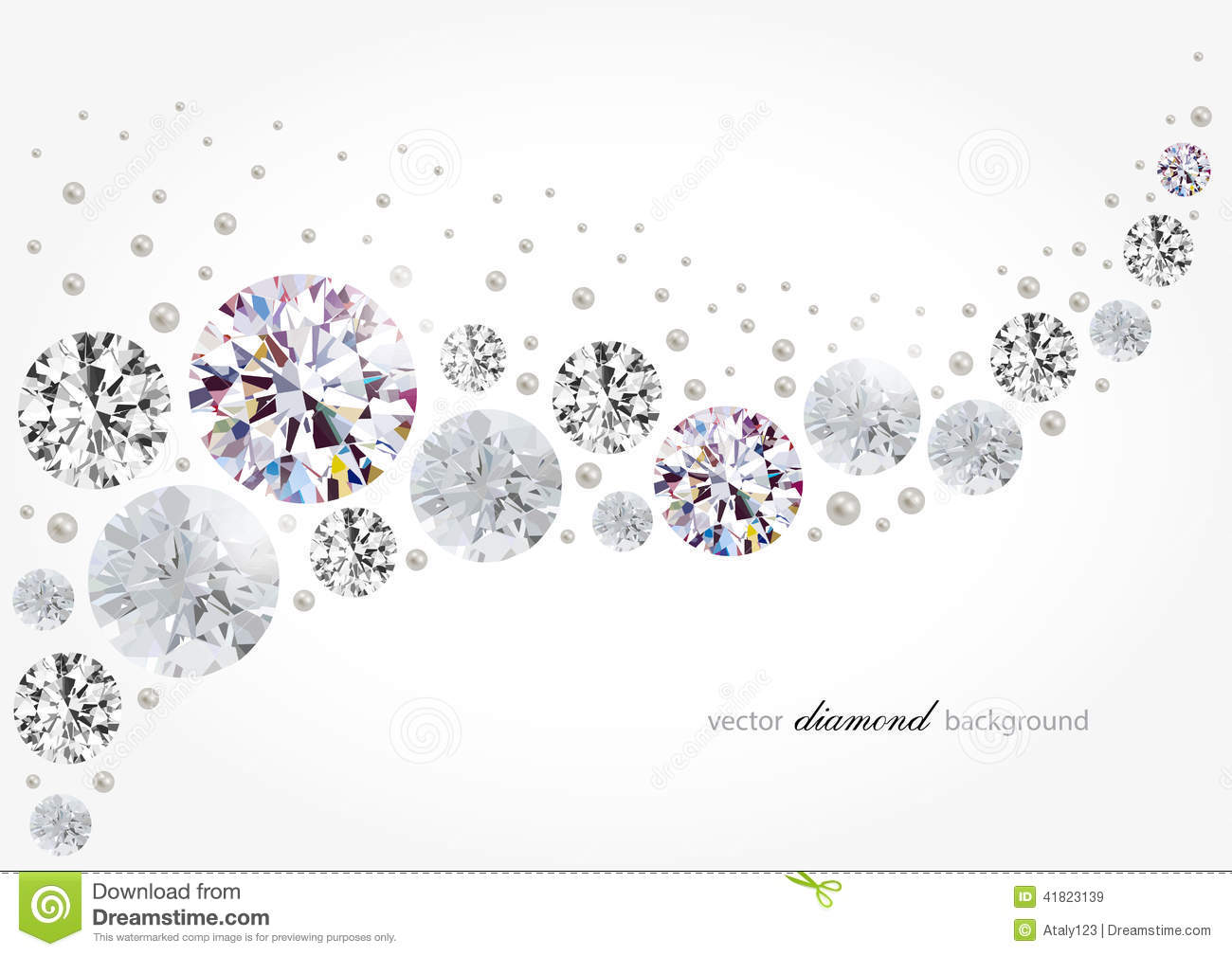 Diamond Background Stock Vector Illustration Of Smooth