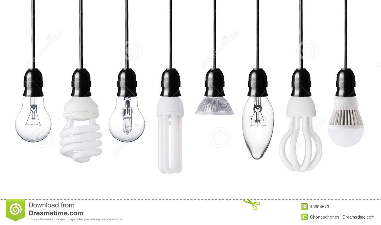 Different Light Bulbs Stock Image Image Of Bulbs