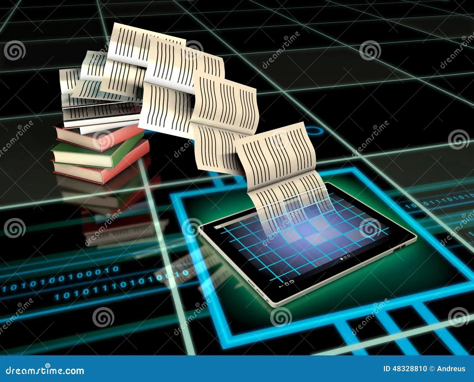 Digital Publishing Stock Illustration Image 48328810