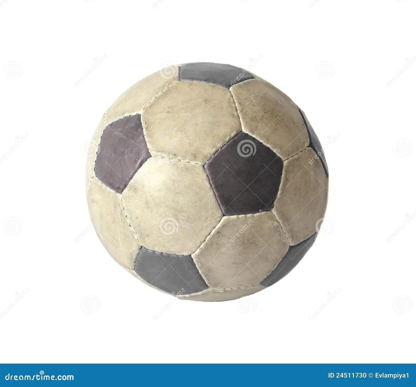 Dirty Soccer Ball Stock Photo Image Of Pentagon Hobbies