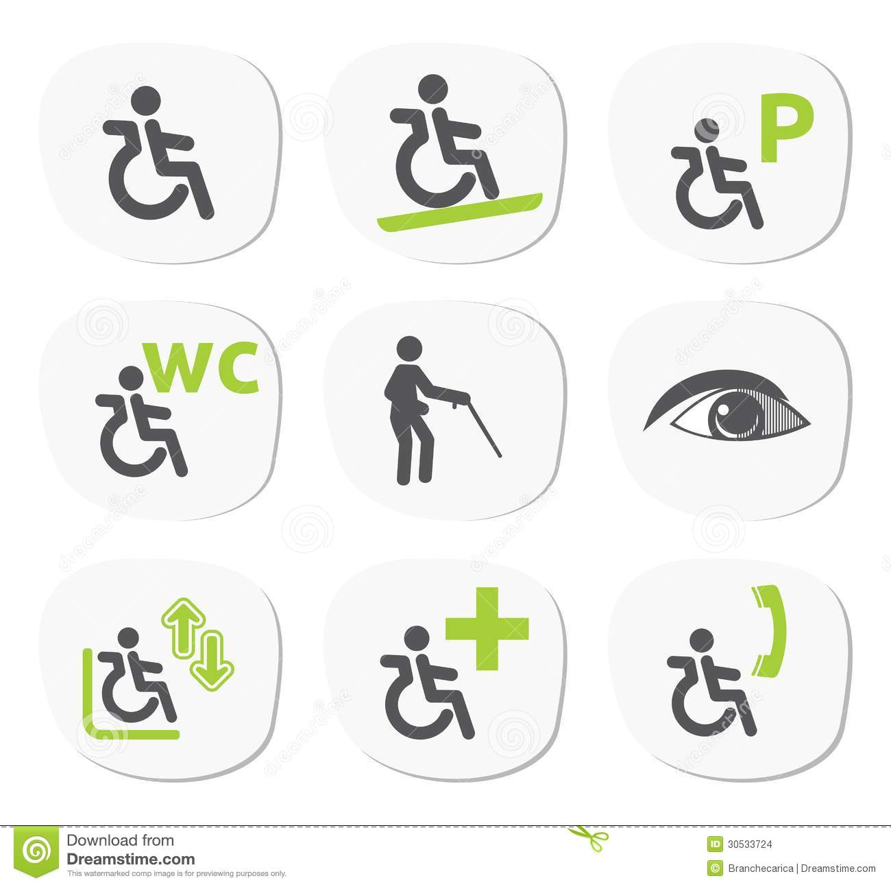 Bathroom For Disabled People Stock Photography