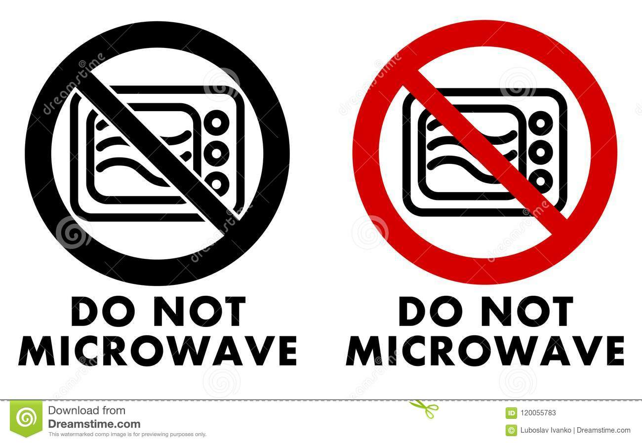 https www dreamstime com do not microwave symbol oven icon crossed circle text u under black white red version image120055783