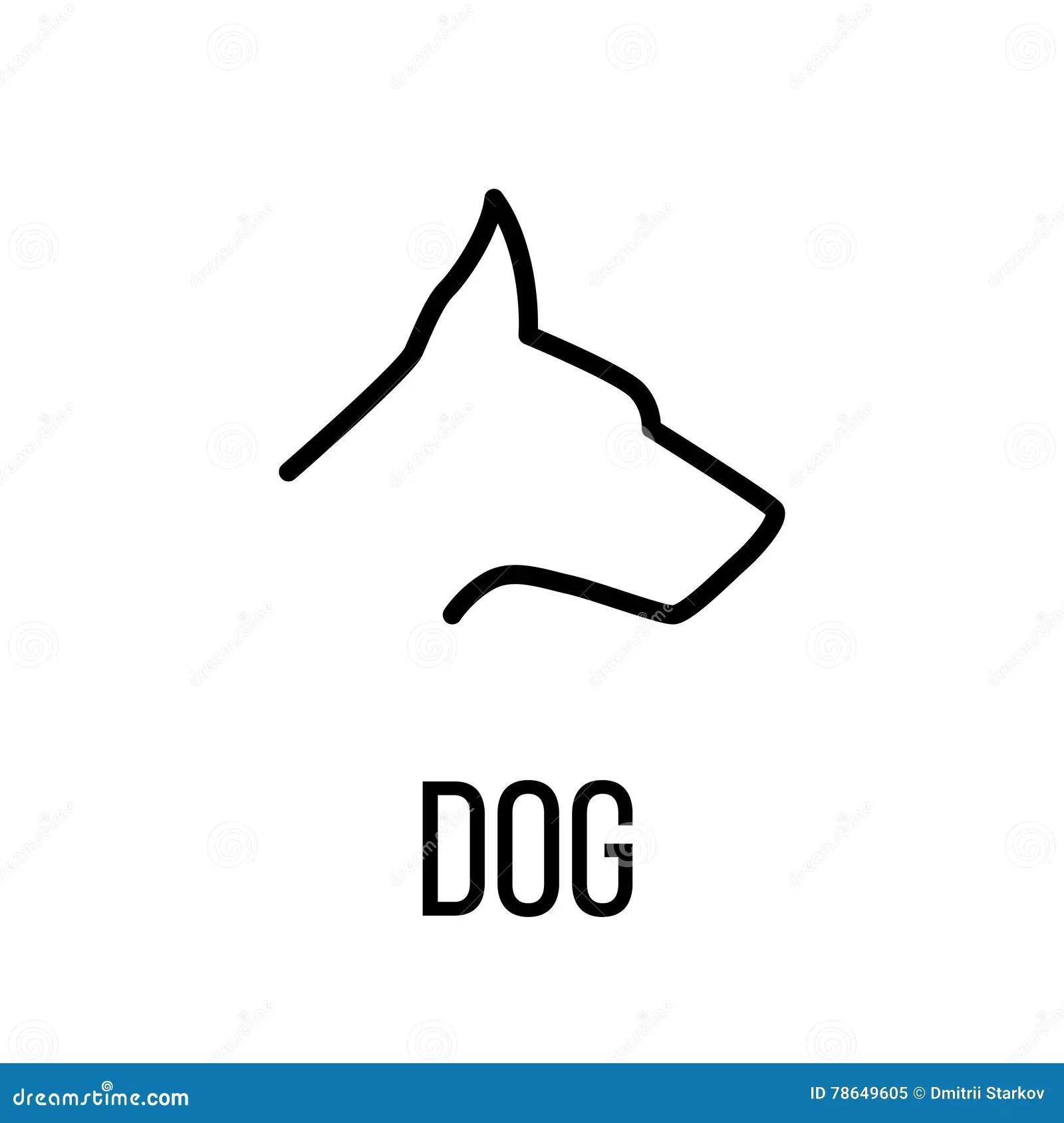 Dog Leash Icon Cartoon Vector