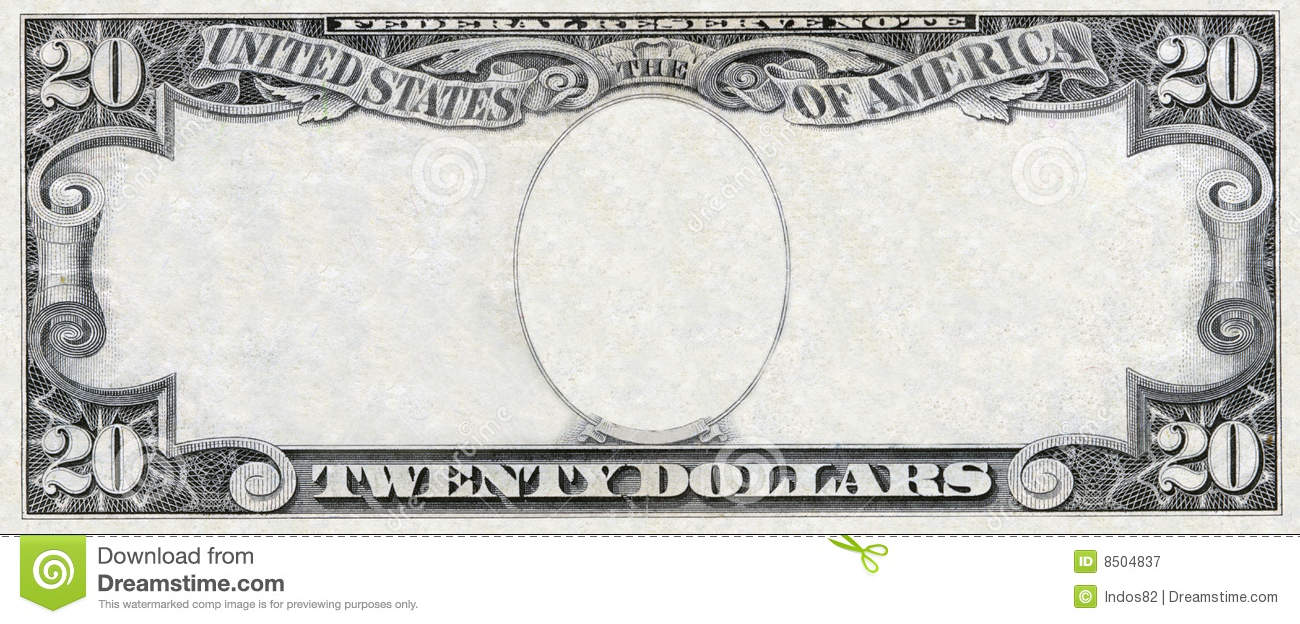 Fake Dollar Bill Template  prop money scan  angry birds play