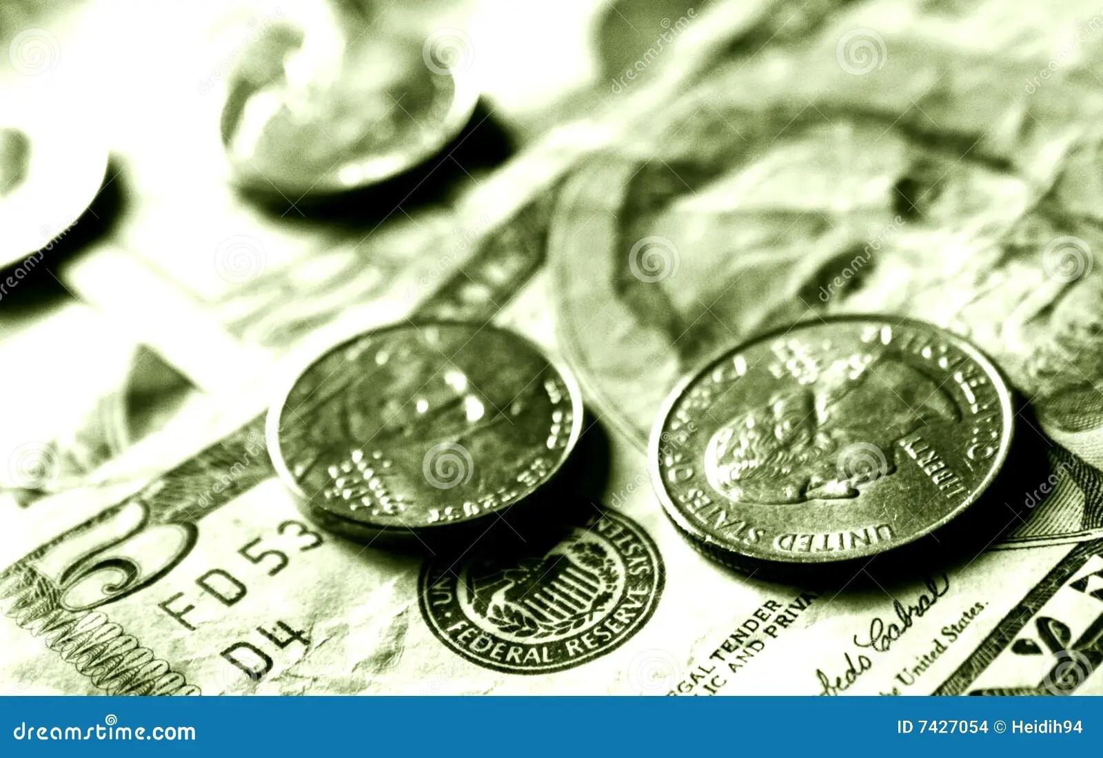Dollars And Cents Stock Photo Image Of Washington Five