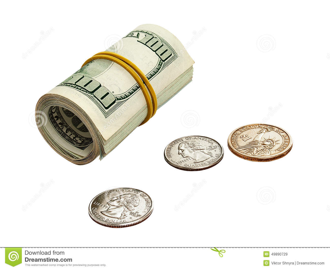 Dollars And Cents Stock Image Image Of Backgroundn