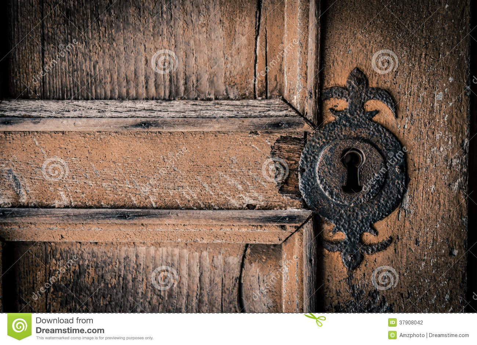 Don T Peek Through The Key Hole Stock Photography Image
