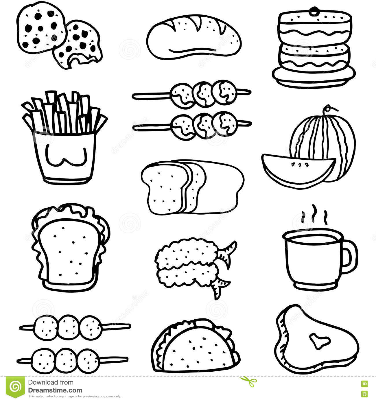 Is3mzstatic imagethumbpurple122v473ca11 cartoon fruit drawings doodle food set hand draw vector art 79500584 how do you draw