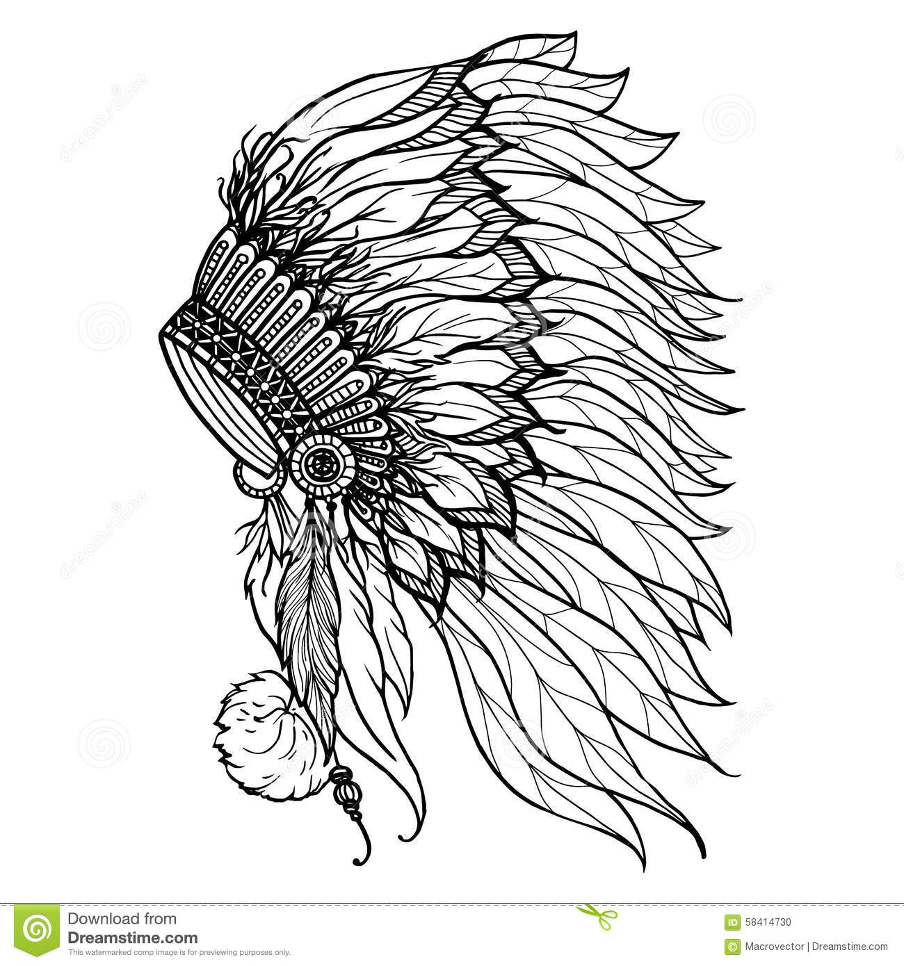 Headdress Cartoons Illustrations Amp Vector Stock Images