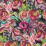 Doodle Rose Colorful Vector Design Flower Art Painting Decoration Wallpaper Seamless Pattern Garden Stock Illustration Illustration Of Botanical Elegance 149574772