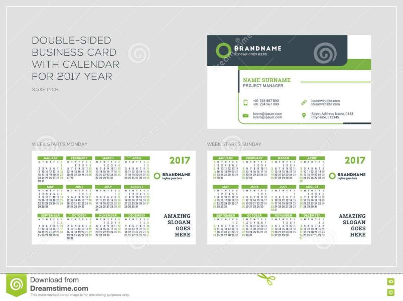Calendar template best templates ideas best templates ideas free business card calendar template ai psd cdr by wilhelm1989 on doublesided business card template with wajeb Image collections