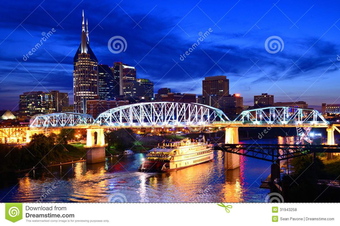 Downtown Nashville Royalty Free Stock Photos Image 31943258