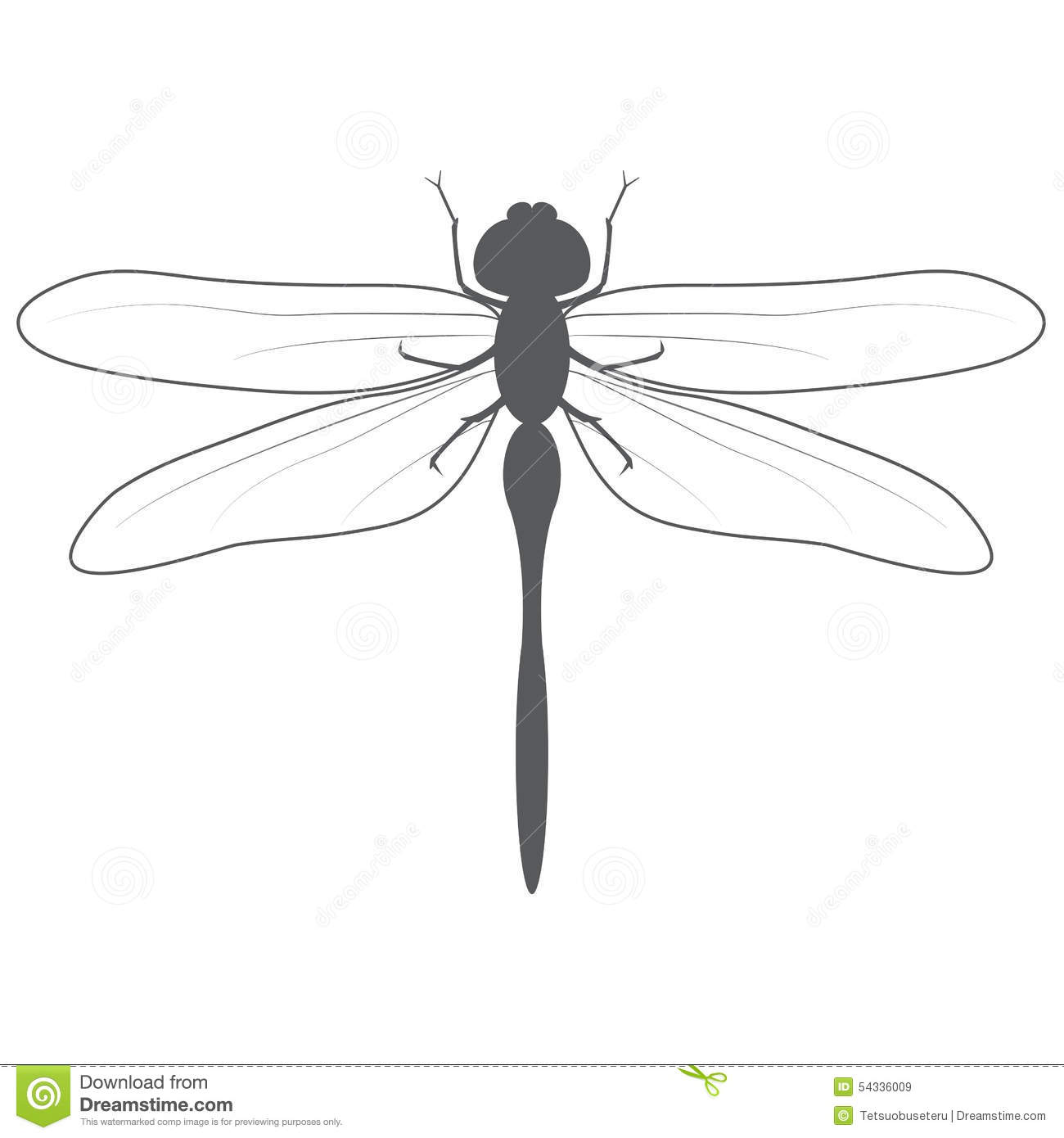 Dragonfly Stock Vector