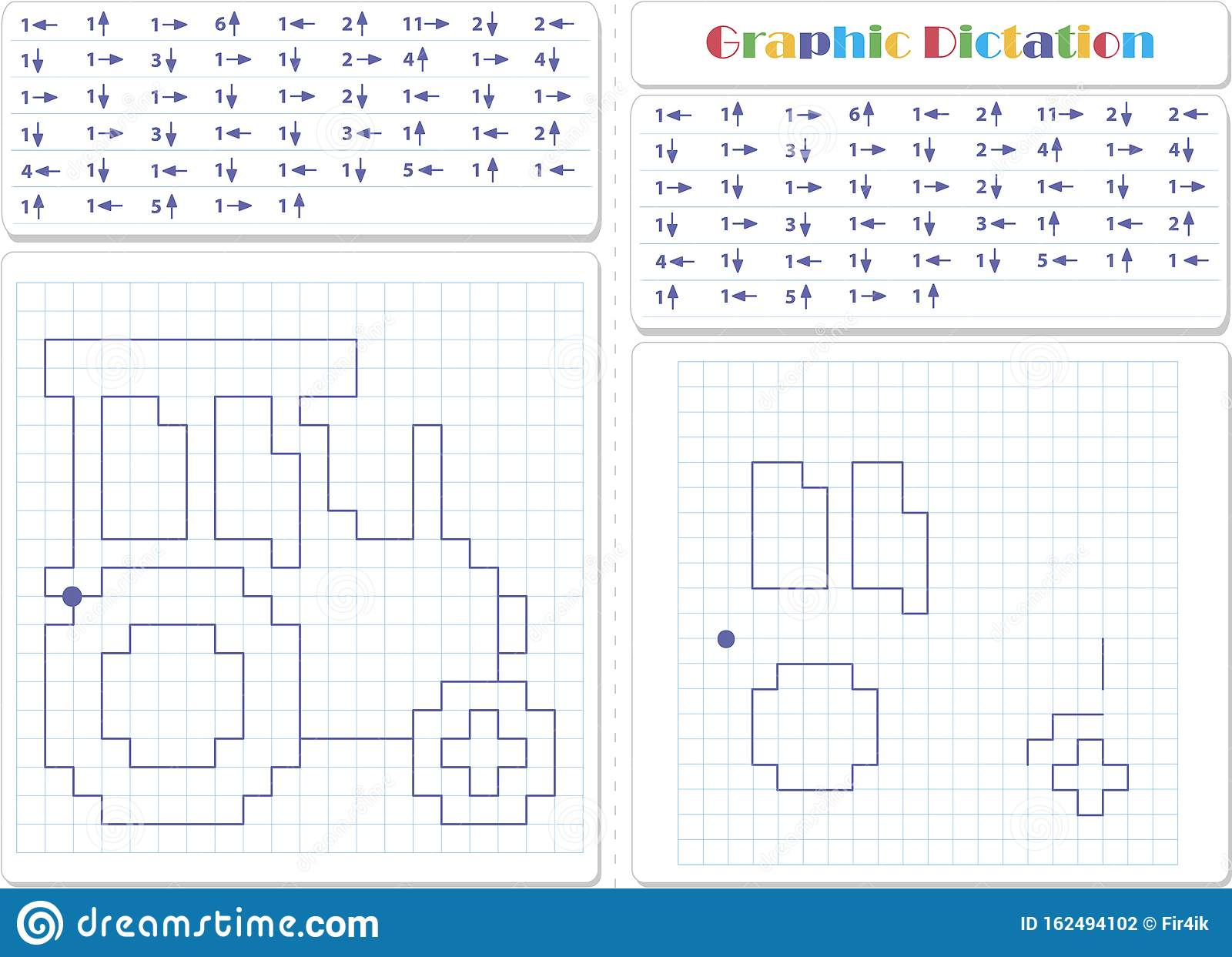Draw A Picture On The Arrows Worksheet For Kids Stock