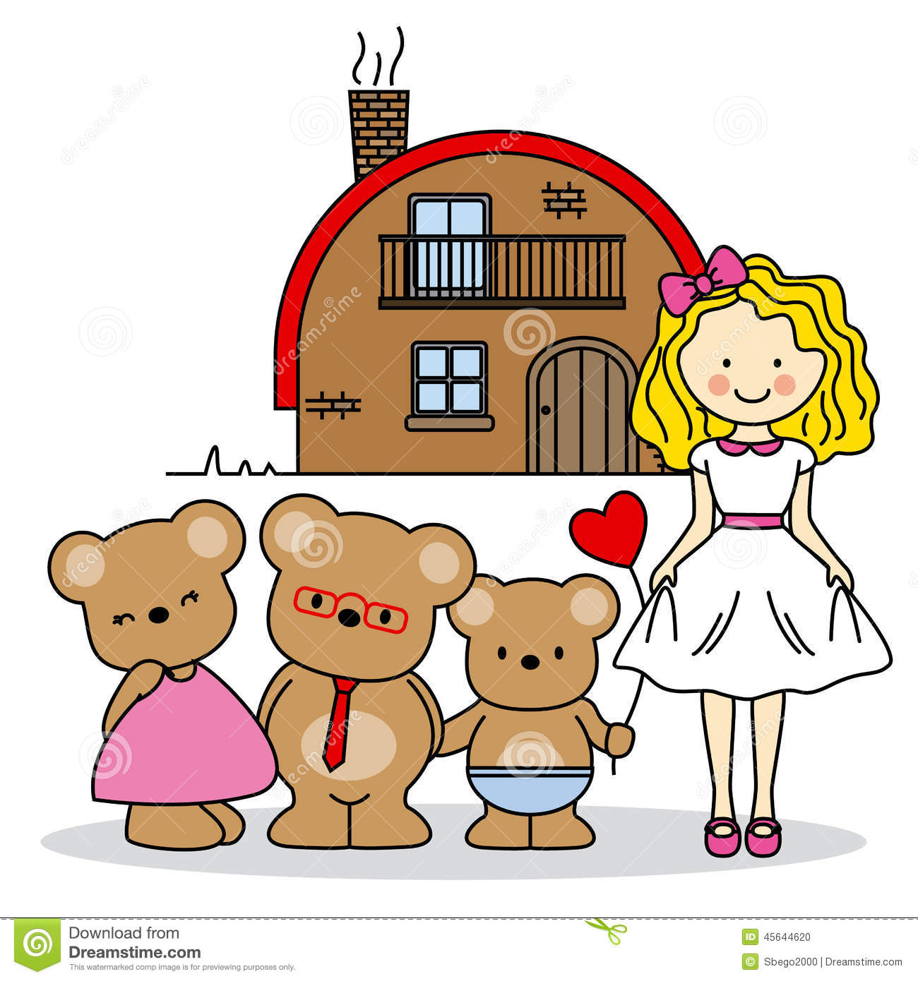 Drawing Fairy Tale Stock Vector Illustration Of Infant