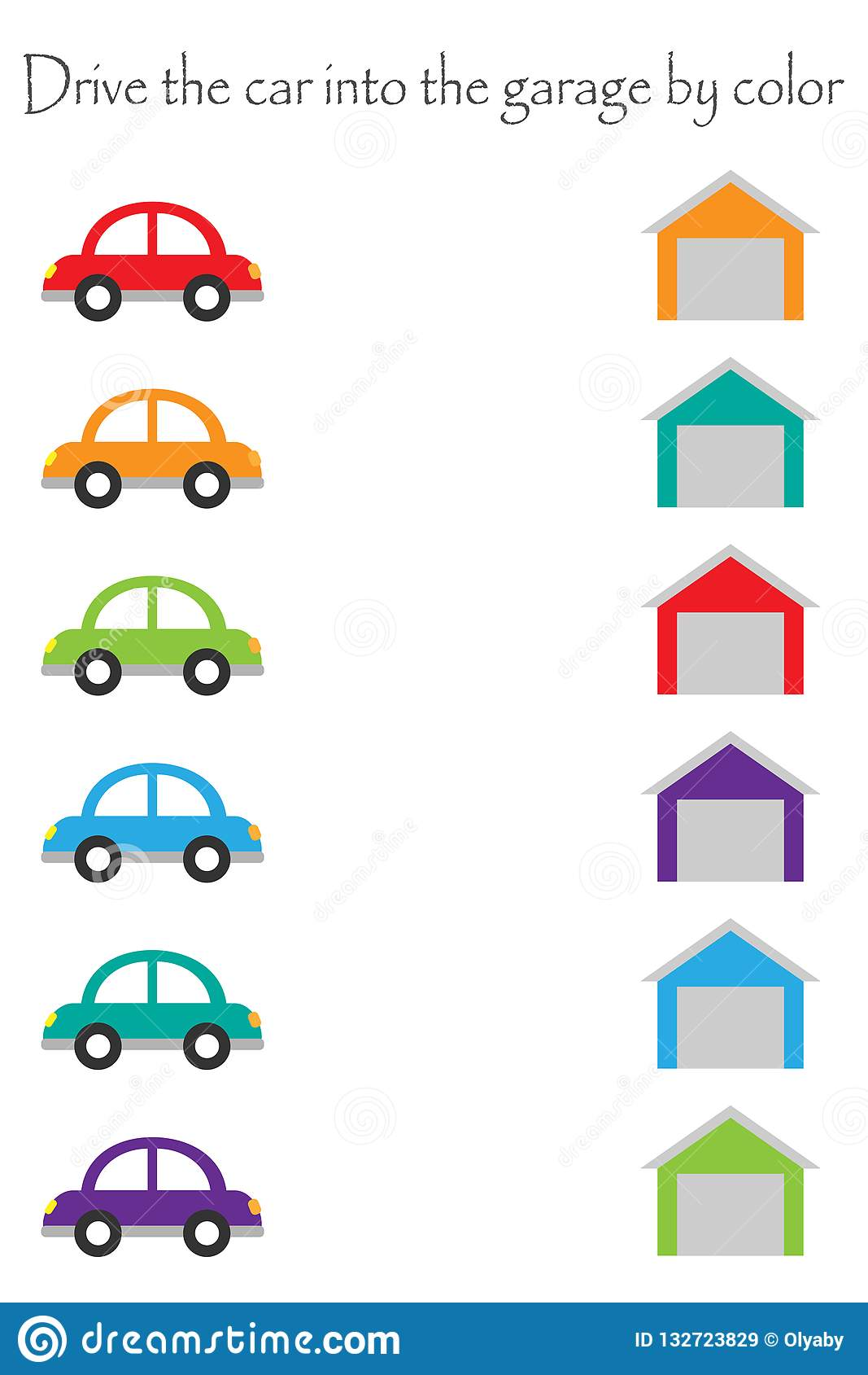 Toy Cars Colorful Different Service Set Vector