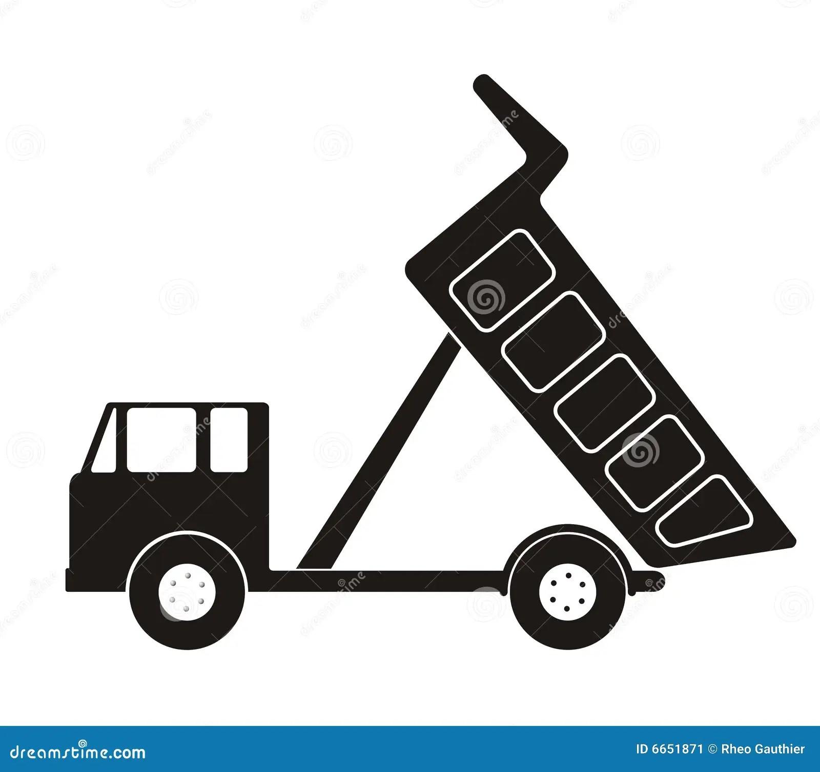 Stock Image Dump Truck Image