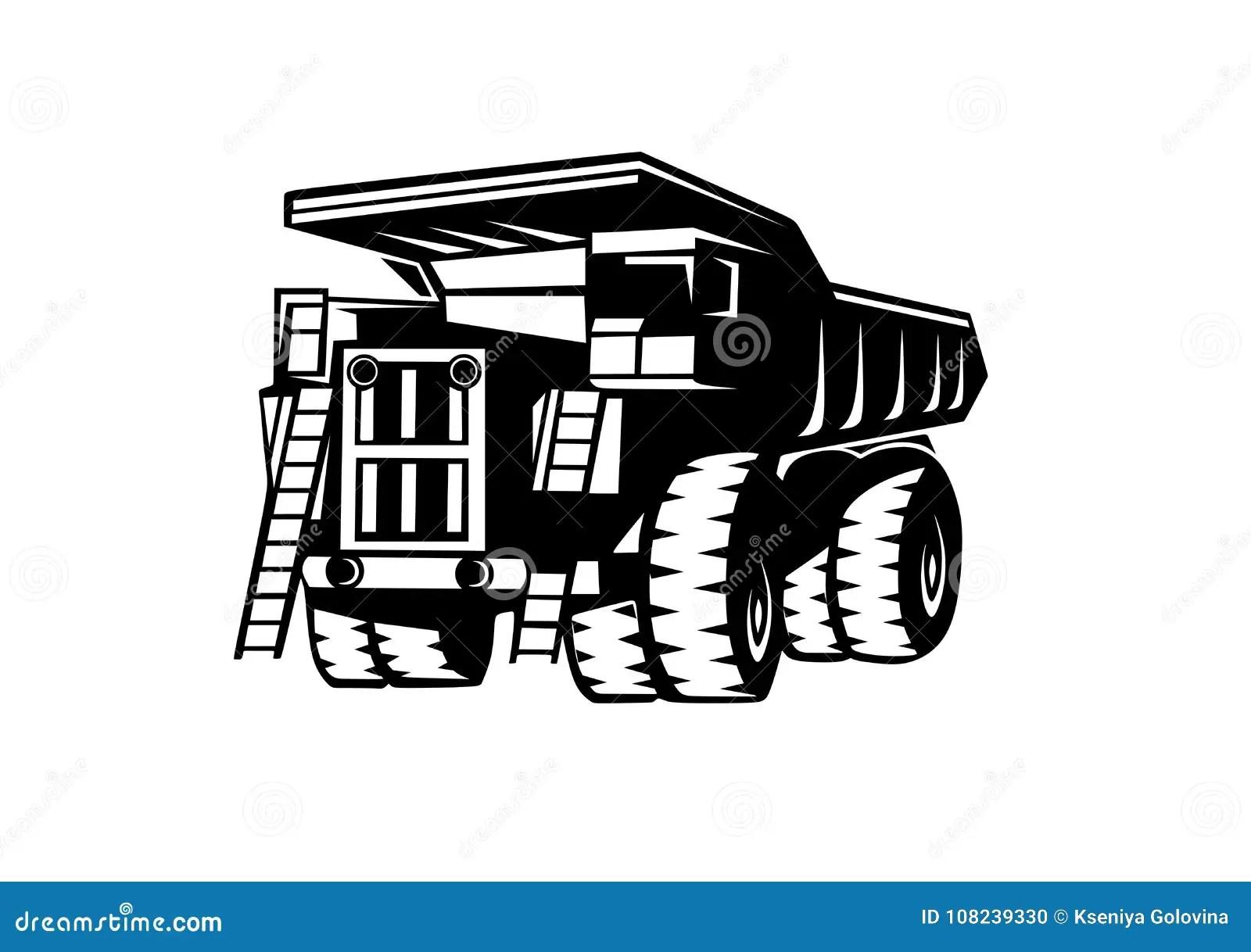 Dump Truckbelaz Stock Vector Illustration Of Ball