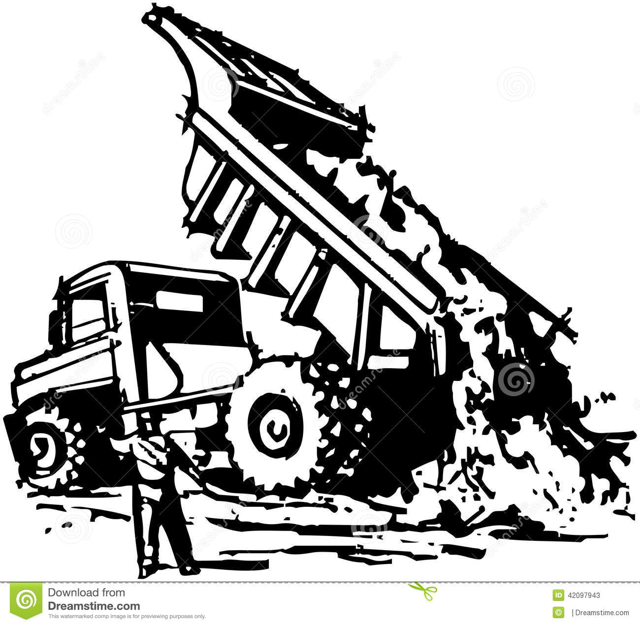 Dumptruck Stock Illustrations 71 Dumptruck Stock