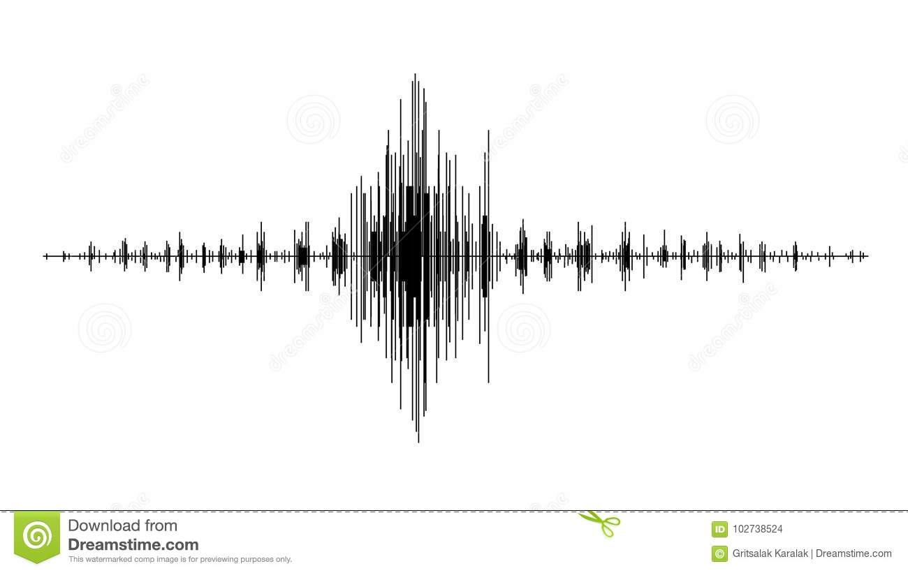 Earthquake Wave Diagram Seismogram Of Different Seismic
