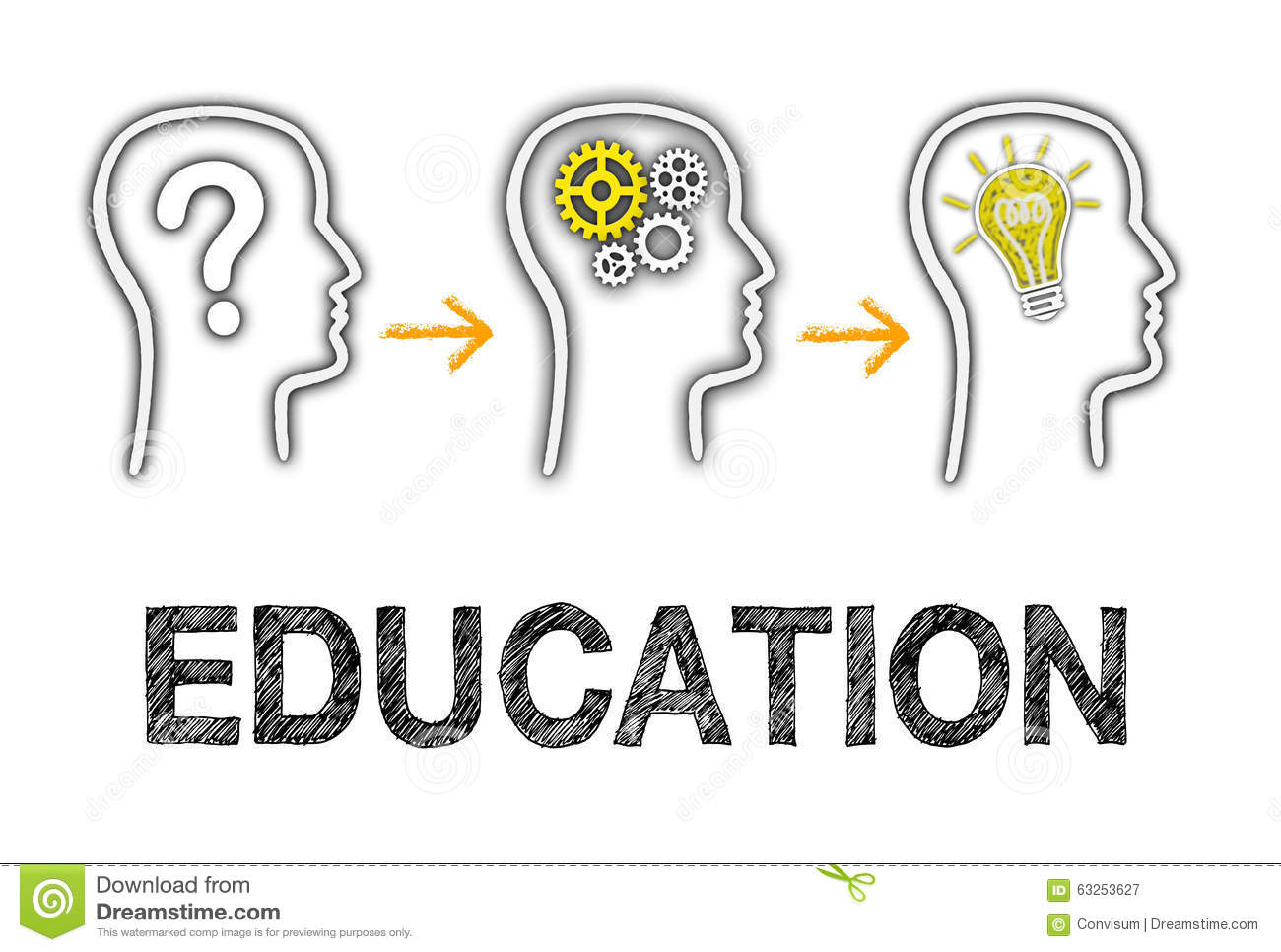 Education And Great Ideas Stock Photo