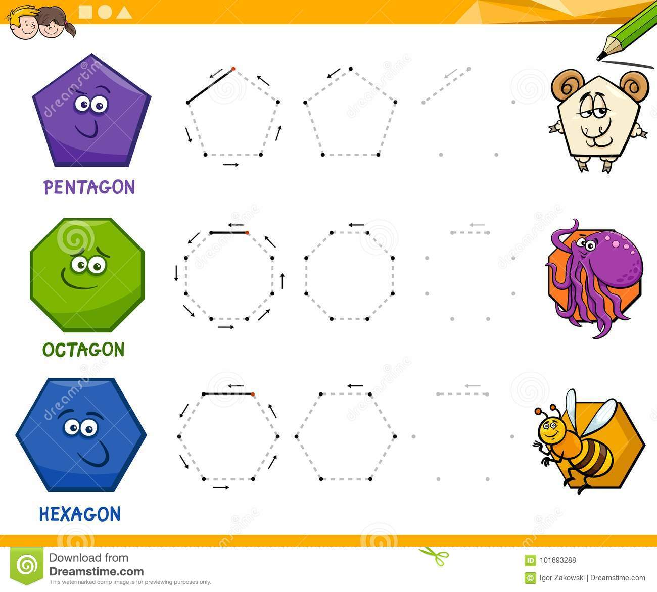 Shapes Worksheet Download