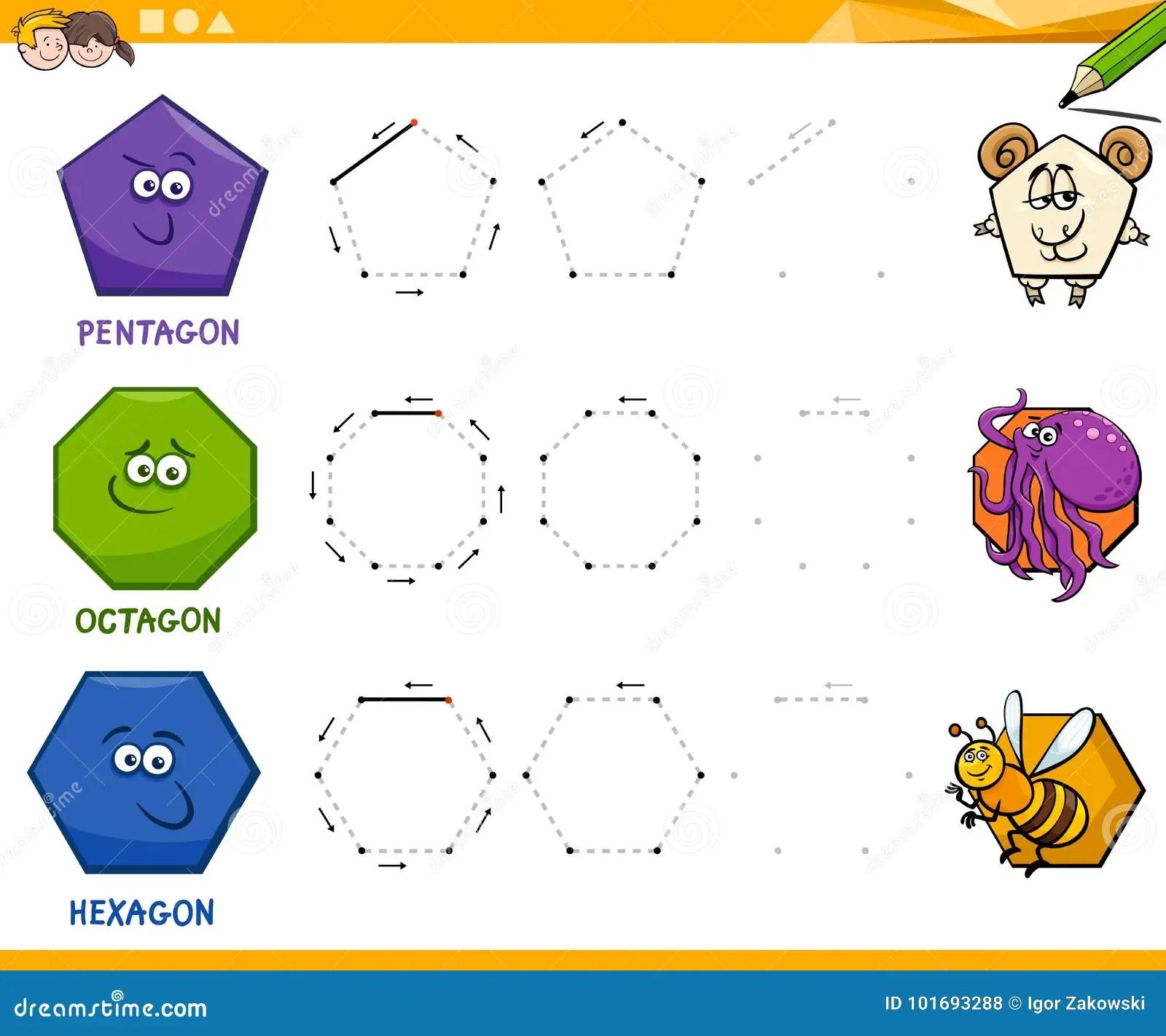 Elementary Worksheet On Shapes