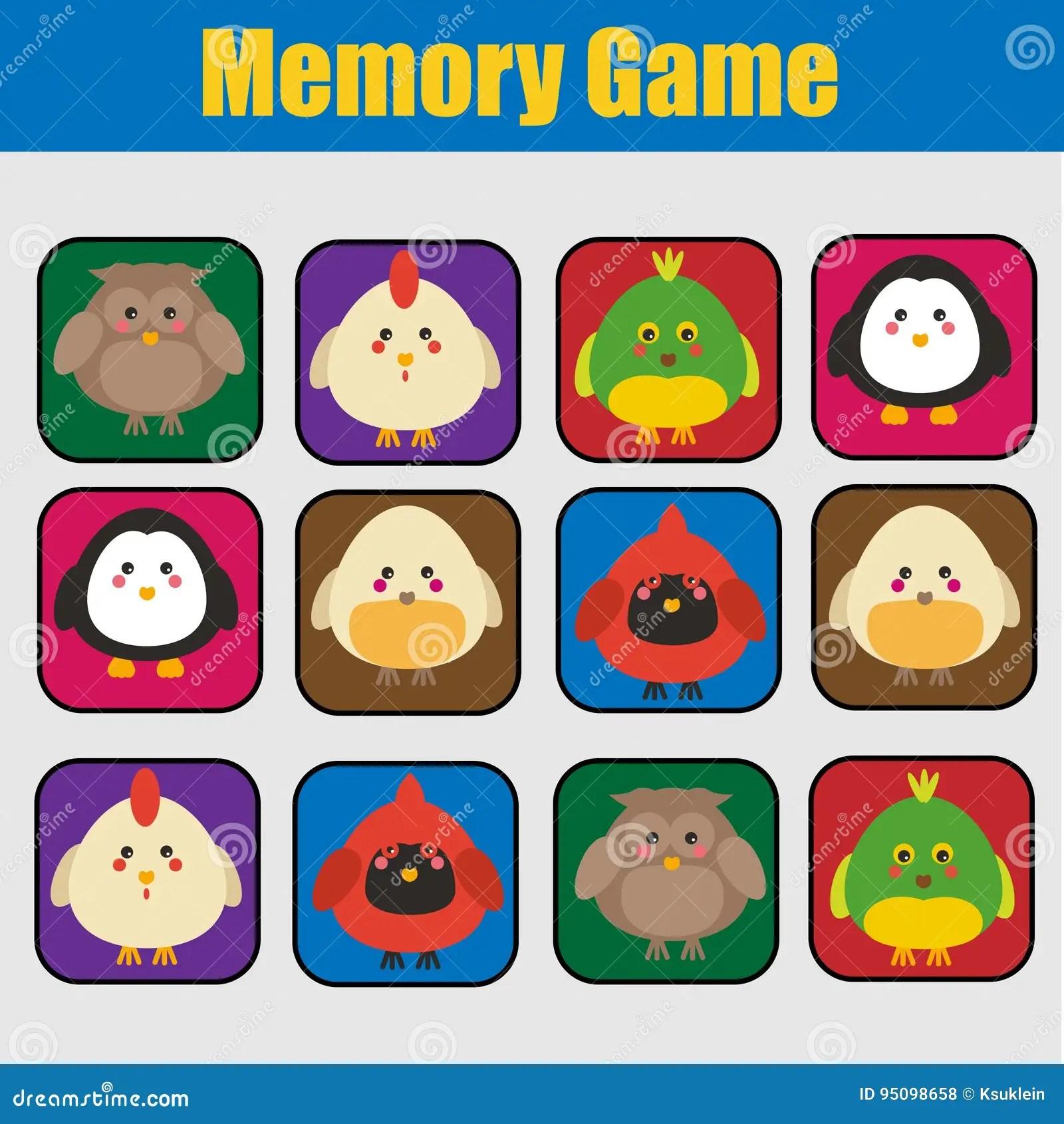 Educational Children Game Kids Activity Memory Game