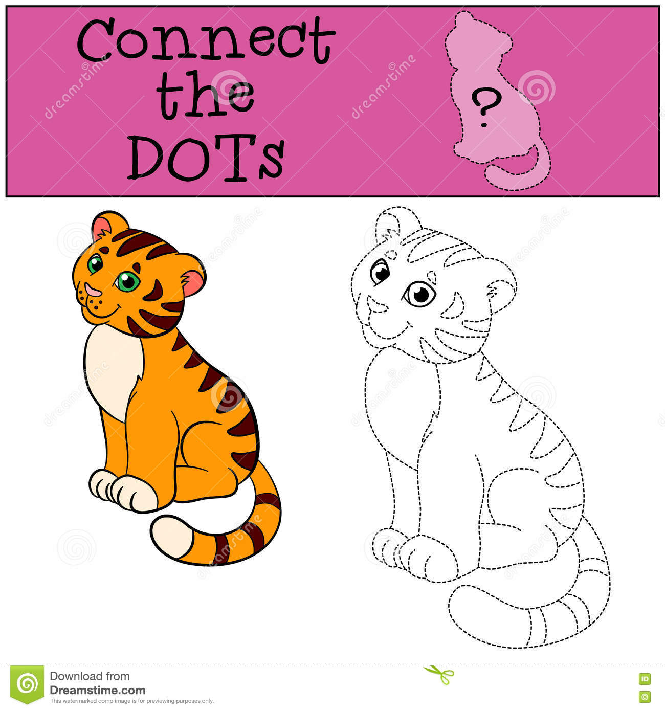 Educational Games For Kids Connect The Dots Little Cute