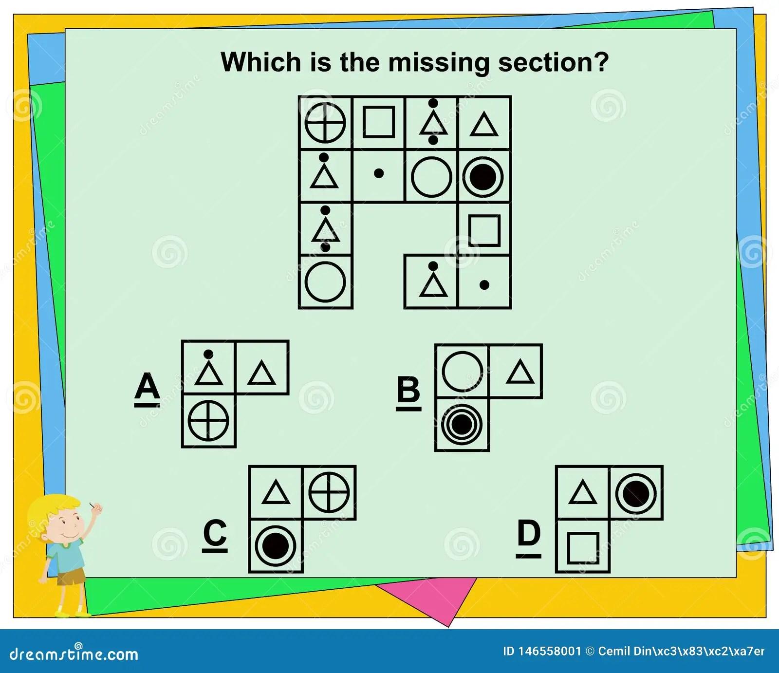 Edukacyjna Gra Dla Dzieciak W Iq Gra Praktyk Pyta