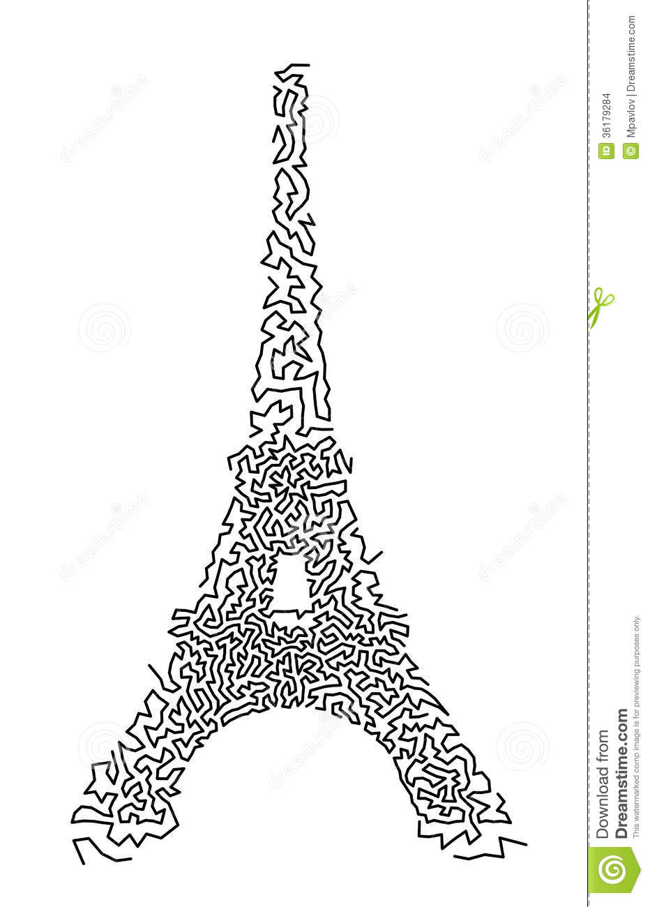 Eiffel Tower Stock Images Image 36179284