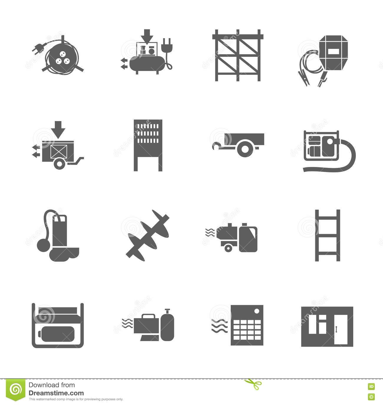 Electric Equipment And Construction Equipment Single