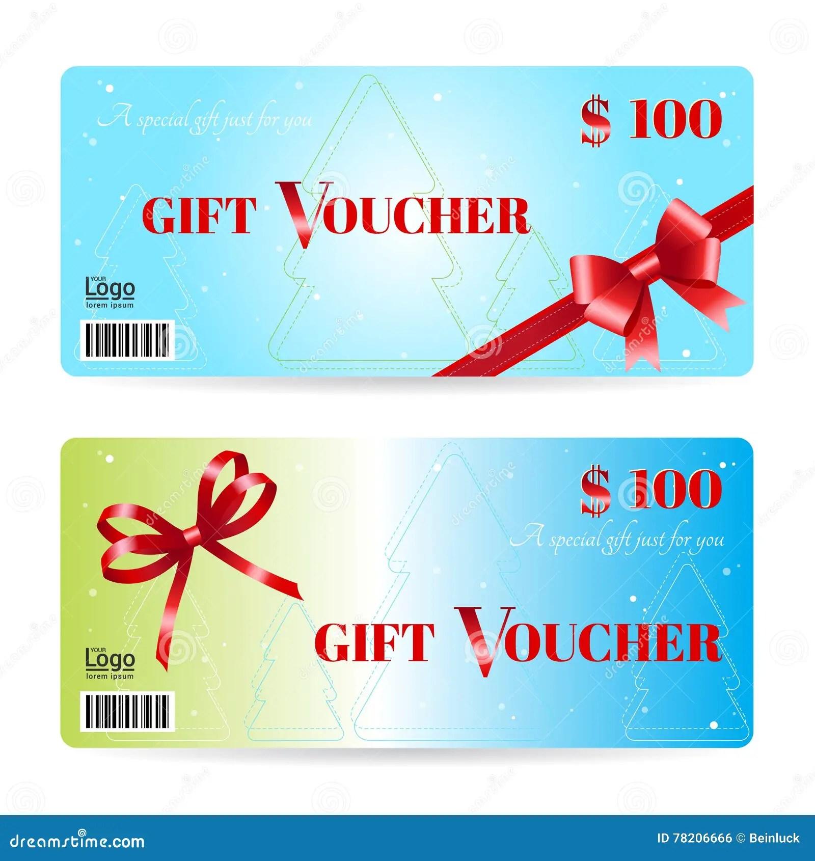 Christmas Gift Voucher Templates elegant christmas gift card or – Christmas Gift Card Template