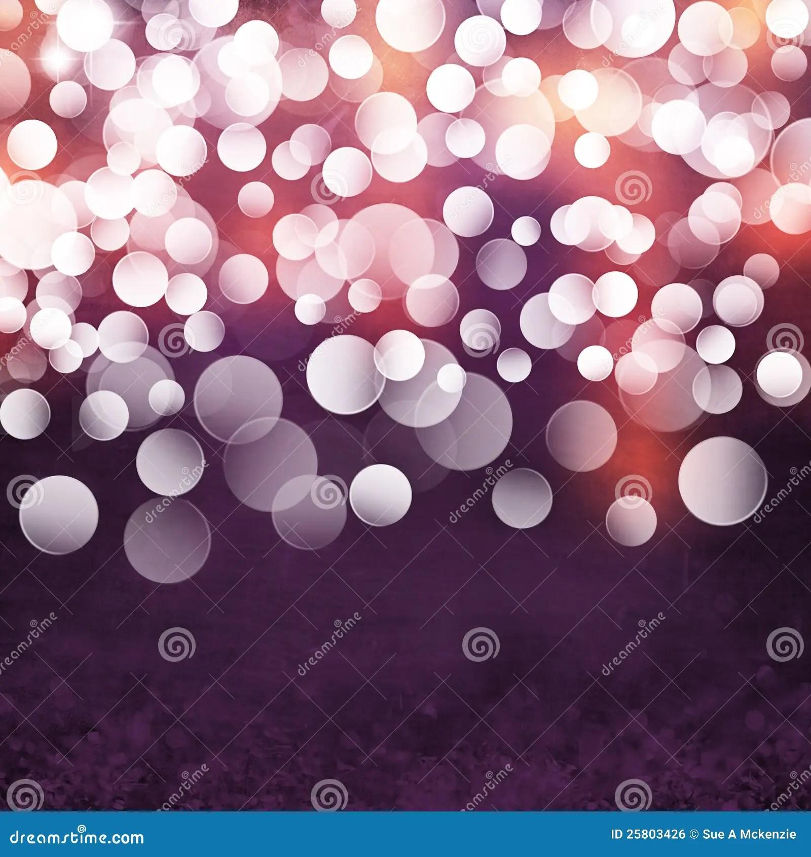 Elegant Textured Grunge Purple Gold Pink Christmas Light