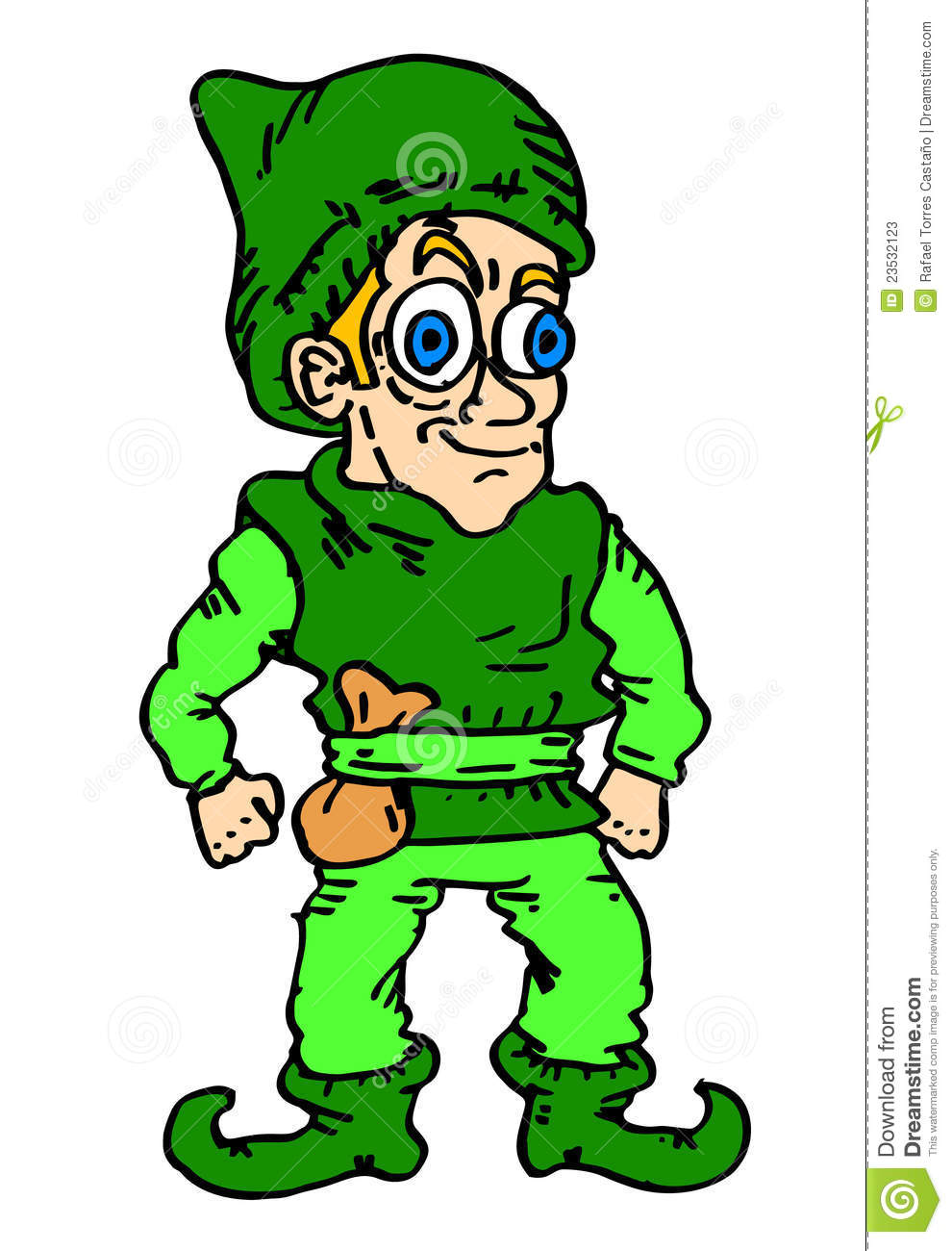 Elf Cartoon Stock Photos Image 23532123