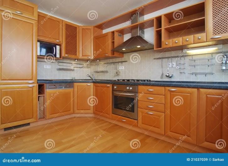 Empty Kitchen Royalty Stock