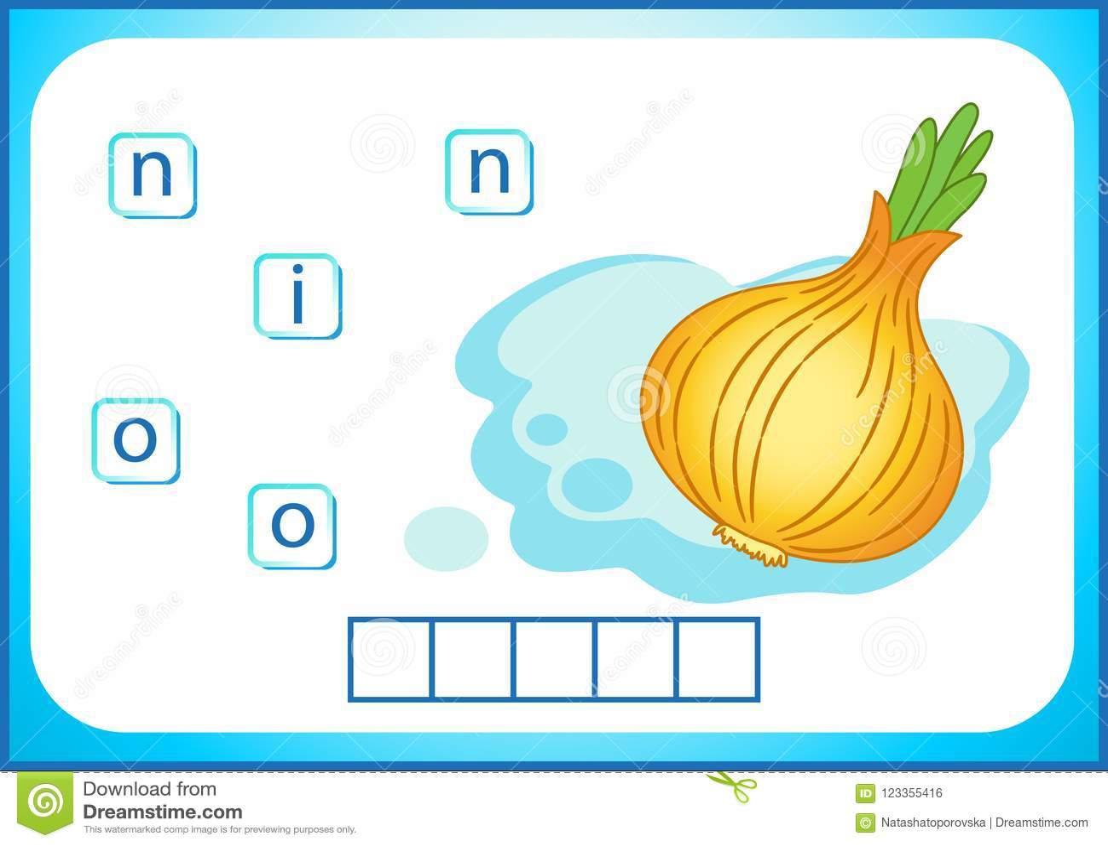 School Education English Flashcard For Learning English