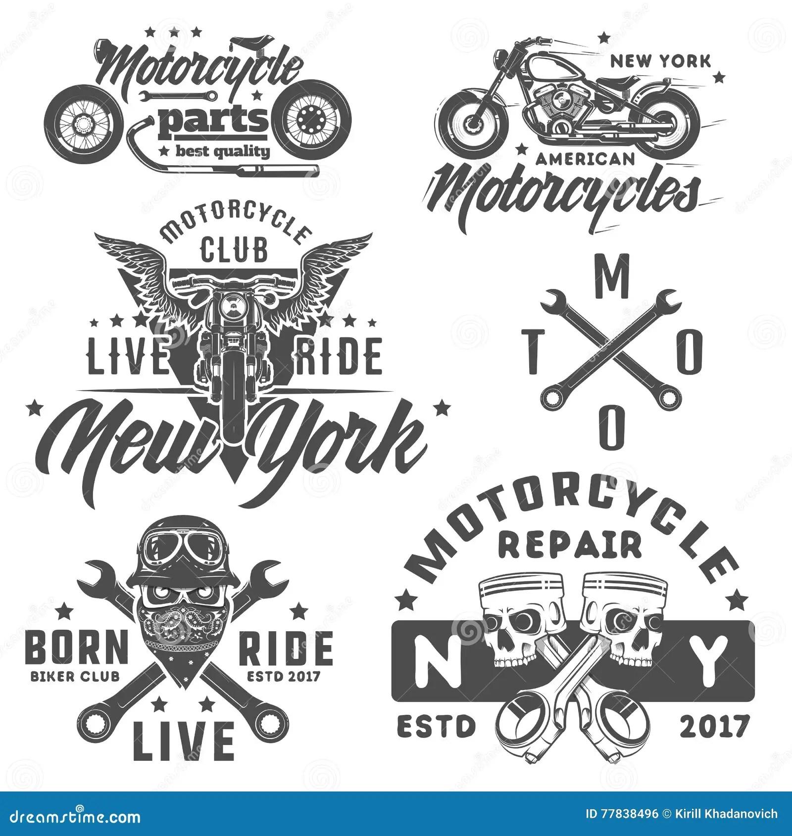 Ensemble D Emblemes De Logo De Tatouage Et De Copies De