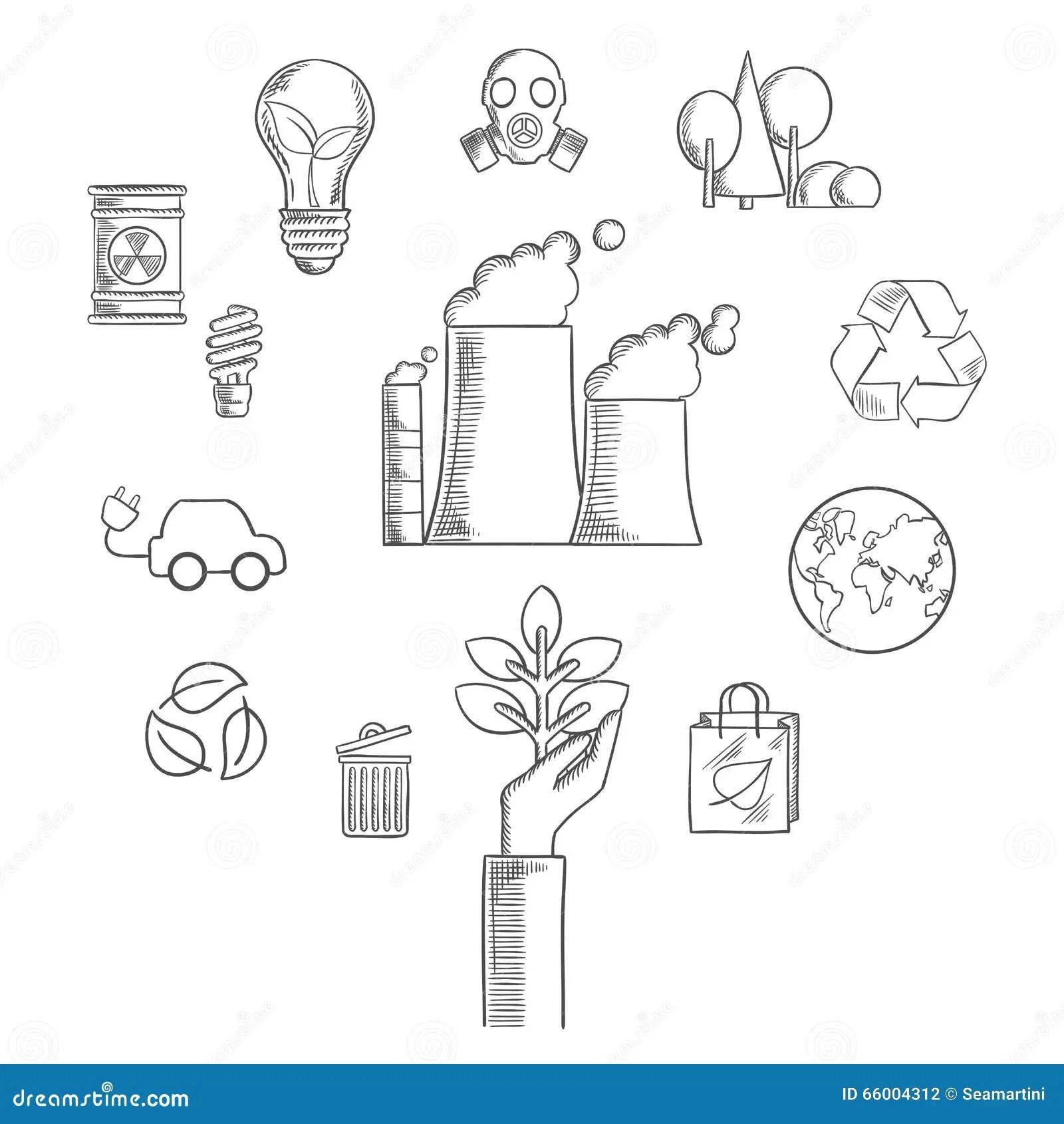 Power Plant Electrical Symbols